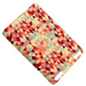 Modern Hipster Triangle Pattern Red Blue Beige Kindle Touch 3G View5