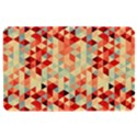 Modern Hipster Triangle Pattern Red Blue Beige Kindle Fire (1st Gen) Hardshell Case View1