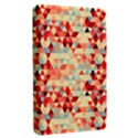 Modern Hipster Triangle Pattern Red Blue Beige Kindle Fire (1st Gen) Hardshell Case View2