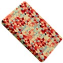 Modern Hipster Triangle Pattern Red Blue Beige Kindle Fire (1st Gen) Hardshell Case View5