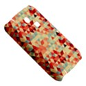 Modern Hipster Triangle Pattern Red Blue Beige Samsung S3350 Hardshell Case View5