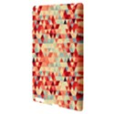 Modern Hipster Triangle Pattern Red Blue Beige Apple iPad 3/4 Hardshell Case View3