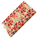 Modern Hipster Triangle Pattern Red Blue Beige Apple iPad 3/4 Hardshell Case View4