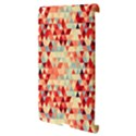 Modern Hipster Triangle Pattern Red Blue Beige Apple iPad 3/4 Hardshell Case (Compatible with Smart Cover) View3