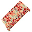 Modern Hipster Triangle Pattern Red Blue Beige Apple iPad 3/4 Hardshell Case (Compatible with Smart Cover) View4