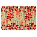 Modern Hipster Triangle Pattern Red Blue Beige Samsung Galaxy Tab 8.9  P7300 Hardshell Case  View1