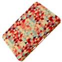 Modern Hipster Triangle Pattern Red Blue Beige Samsung Galaxy Tab 8.9  P7300 Hardshell Case  View4