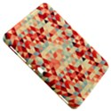 Modern Hipster Triangle Pattern Red Blue Beige Samsung Galaxy Tab 8.9  P7300 Hardshell Case  View5