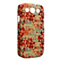 Modern Hipster Triangle Pattern Red Blue Beige Samsung Galaxy S III Classic Hardshell Case (PC+Silicone) View2