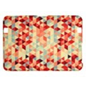 Modern Hipster Triangle Pattern Red Blue Beige Kindle Fire HD 8.9  View1