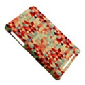 Modern Hipster Triangle Pattern Red Blue Beige Nexus 7 (2012) View5