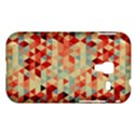 Modern Hipster Triangle Pattern Red Blue Beige Samsung Galaxy Ace Plus S7500 Hardshell Case View1