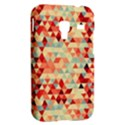 Modern Hipster Triangle Pattern Red Blue Beige Samsung Galaxy Ace Plus S7500 Hardshell Case View2