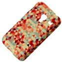 Modern Hipster Triangle Pattern Red Blue Beige Samsung Galaxy Ace Plus S7500 Hardshell Case View4