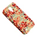 Modern Hipster Triangle Pattern Red Blue Beige Samsung Galaxy S4 I9500/I9505 Hardshell Case View5