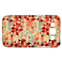 Modern Hipster Triangle Pattern Red Blue Beige Samsung Galaxy Win I8550 Hardshell Case  View1