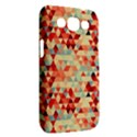 Modern Hipster Triangle Pattern Red Blue Beige Samsung Galaxy Win I8550 Hardshell Case  View2