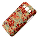 Modern Hipster Triangle Pattern Red Blue Beige Samsung Galaxy Win I8550 Hardshell Case  View4