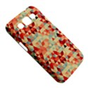 Modern Hipster Triangle Pattern Red Blue Beige Samsung Galaxy Win I8550 Hardshell Case  View5