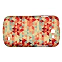 Modern Hipster Triangle Pattern Red Blue Beige Samsung Galaxy Express I8730 Hardshell Case  View1
