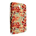 Modern Hipster Triangle Pattern Red Blue Beige Samsung Galaxy Note 8.0 N5100 Hardshell Case  View2