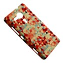 Modern Hipster Triangle Pattern Red Blue Beige Sony Xperia SP View5
