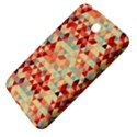 Modern Hipster Triangle Pattern Red Blue Beige Samsung Galaxy Tab 3 (7 ) P3200 Hardshell Case  View4