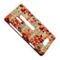 Modern Hipster Triangle Pattern Red Blue Beige Nokia Lumia 928 View5