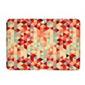 Modern Hipster Triangle Pattern Red Blue Beige Samsung Galaxy Tab 2 (10.1 ) P5100 Hardshell Case  View1