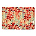 Modern Hipster Triangle Pattern Red Blue Beige Kindle Fire HDX 8.9  Hardshell Case View1