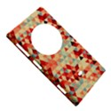 Modern Hipster Triangle Pattern Red Blue Beige Nokia Lumia 1020 View5