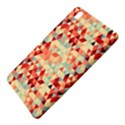 Modern Hipster Triangle Pattern Red Blue Beige Samsung Galaxy Tab Pro 8.4 Hardshell Case View5