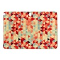 Modern Hipster Triangle Pattern Red Blue Beige Samsung Galaxy Tab Pro 12.2 Hardshell Case View1