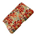 Modern Hipster Triangle Pattern Red Blue Beige Amazon Kindle Fire (2012) Hardshell Case View4