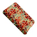 Modern Hipster Triangle Pattern Red Blue Beige Amazon Kindle Fire (2012) Hardshell Case View5