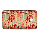 Modern Hipster Triangle Pattern Red Blue Beige Nokia Lumia 630 View1