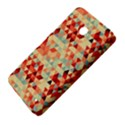 Modern Hipster Triangle Pattern Red Blue Beige Nokia Lumia 630 View4