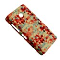 Modern Hipster Triangle Pattern Red Blue Beige Nokia Lumia 630 View5