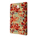 Modern Hipster Triangle Pattern Red Blue Beige Samsung Galaxy Tab S (8.4 ) Hardshell Case  View2