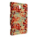 Modern Hipster Triangle Pattern Red Blue Beige Samsung Galaxy Tab S (8.4 ) Hardshell Case  View3