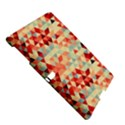 Modern Hipster Triangle Pattern Red Blue Beige Samsung Galaxy Tab S (10.5 ) Hardshell Case  View5