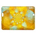 Gold Blue Abstract Blossom Kindle Fire HDX Hardshell Case View1