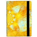 Gold Blue Abstract Blossom iPad Mini 2 Flip Cases View2