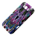 Sly Dog Modern Grunge Style Blue Pink Violet HTC Sensation XL Hardshell Case View4