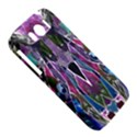 Sly Dog Modern Grunge Style Blue Pink Violet HTC Sensation XL Hardshell Case View5