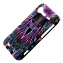 Sly Dog Modern Grunge Style Blue Pink Violet HTC Incredible S Hardshell Case  View4