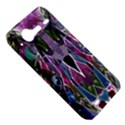 Sly Dog Modern Grunge Style Blue Pink Violet HTC Incredible S Hardshell Case  View5