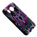 Sly Dog Modern Grunge Style Blue Pink Violet HTC Desire HD Hardshell Case  View5