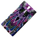 Sly Dog Modern Grunge Style Blue Pink Violet Sony Xperia S View4