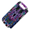 Sly Dog Modern Grunge Style Blue Pink Violet Samsung Galaxy S III Hardshell Case (PC+Silicone) View4